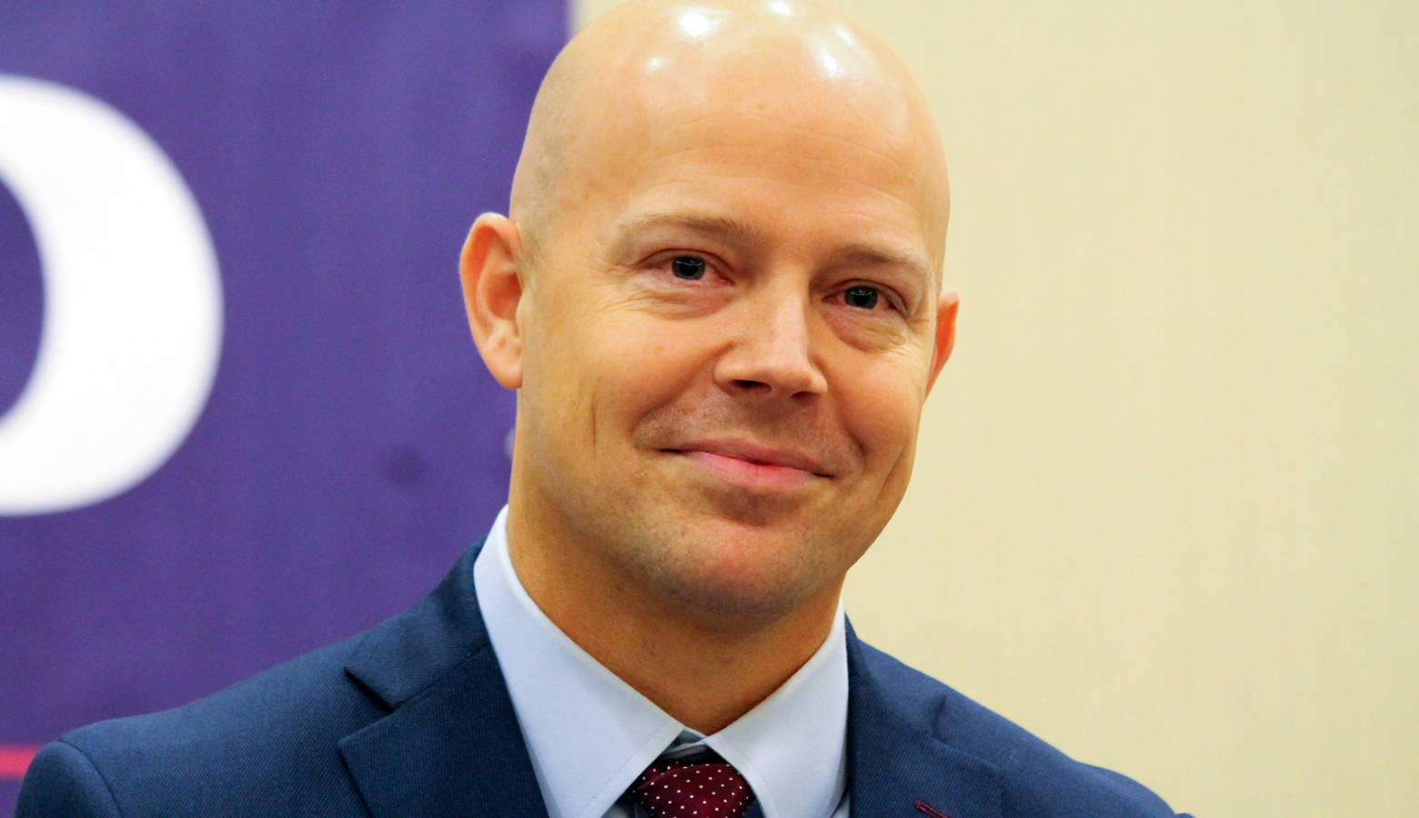Department of Revenue Commissioner Adam Krupp announces his bid for Attorney General. (Lauren Chapman/IPB News)