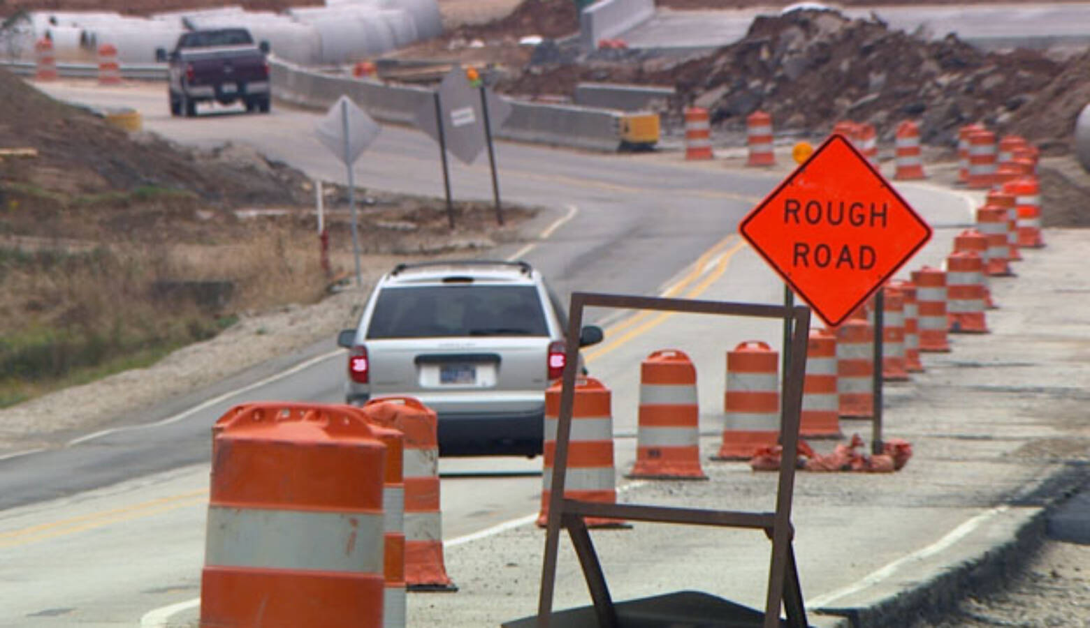 Legislation would allow the Indiana Department of Transportation to set up speed cameras in four work zones statewide. (WFIU/WTIU)