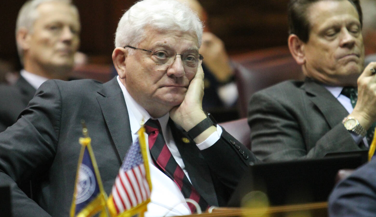 Rep. Ed Soliday (R-Valparaiso) authored the bill one year after proposing legislation that would have put renewable energy projects on hold. (Lauren Chapman/IPB News)