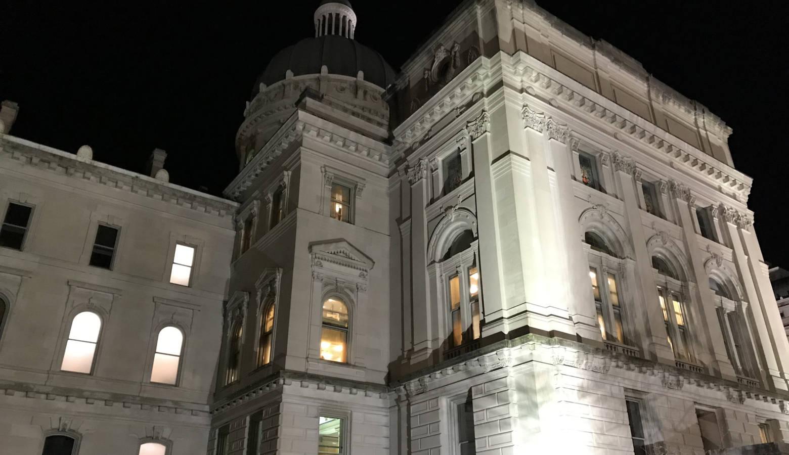 The Indiana Statehouse. (FILE PHOTO: Brandon Smith/IPB News)