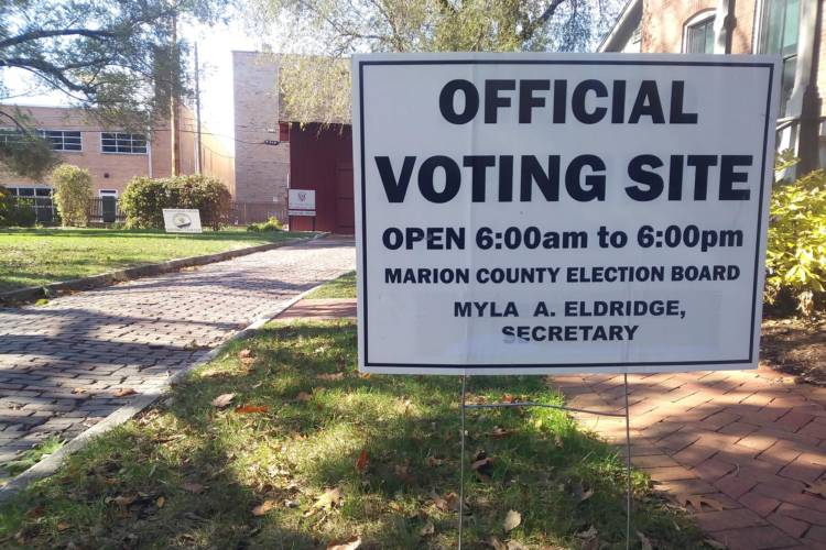 Indiana is one of only three states where polls close at 6 p.m.  (FILE PHOTO: Lauren Chapman/IPB News)
