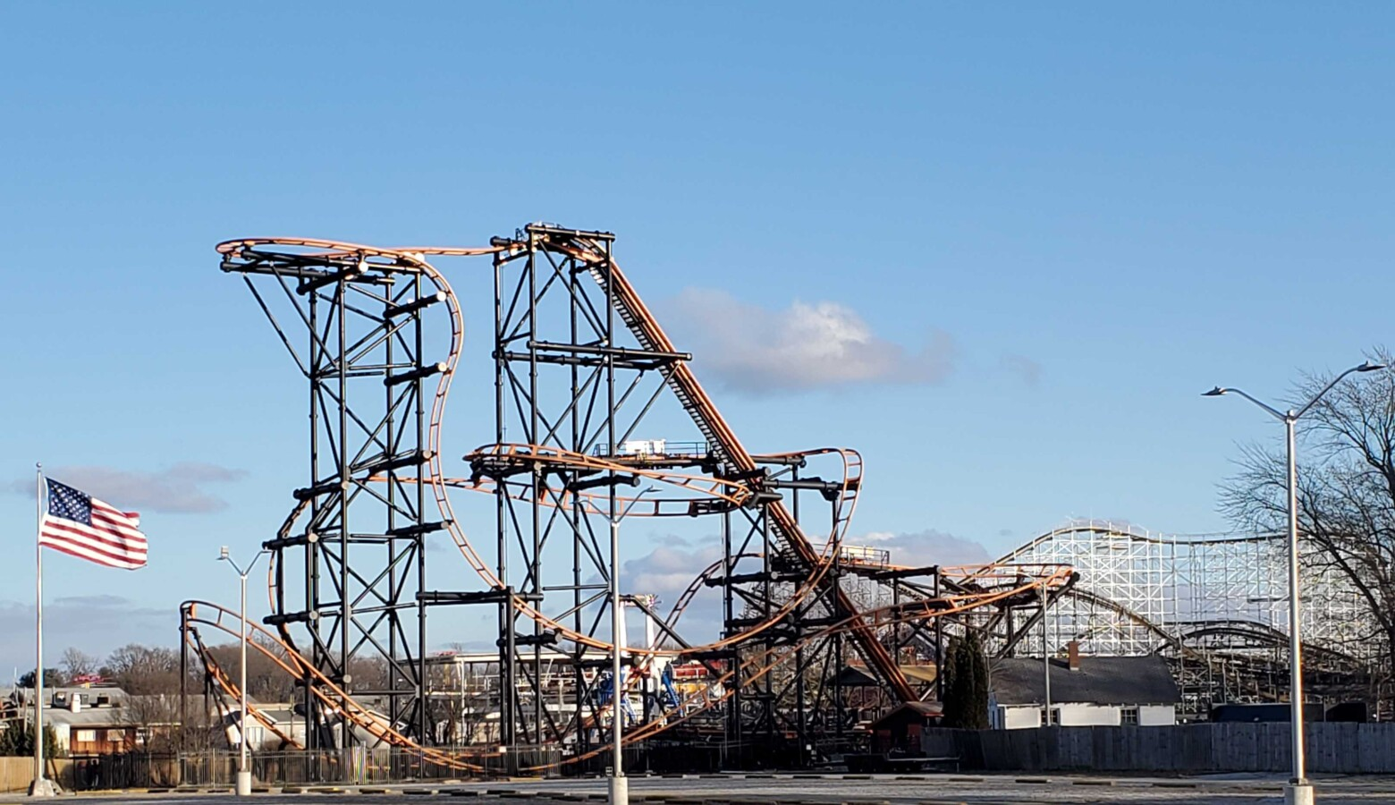 Indiana Beach amusement and water park in Monticello, Indiana, is now closed. (Samantha Horton/IPB News)