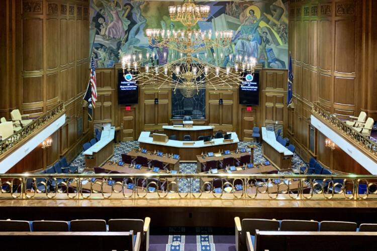 The House Chamber. (Brandon Smith/IPB News)