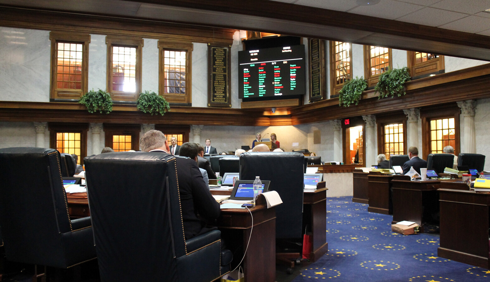 A bill to allow speed cameras in highway work zones couldn't advance past the Senate floor. (FILE PHOTO: Lauren Chapman/IPB News)