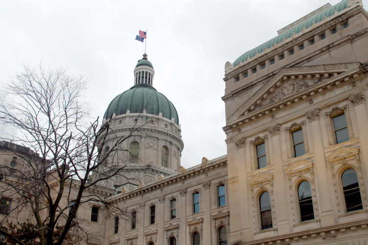The Indiana Statehouse. (Lauren Chapman/IPB News)