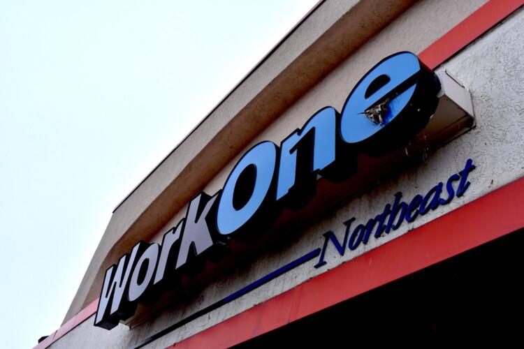 A WorkOne center in northeast Indiana. (Justin Hicks/IPB News)