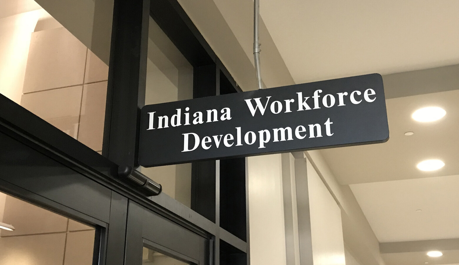 Department of Workforce Development Commissioner Fred Payne urges people who have questions to visit the state's website – unemployment.in.gov. (Brandon Smith/IPB News)