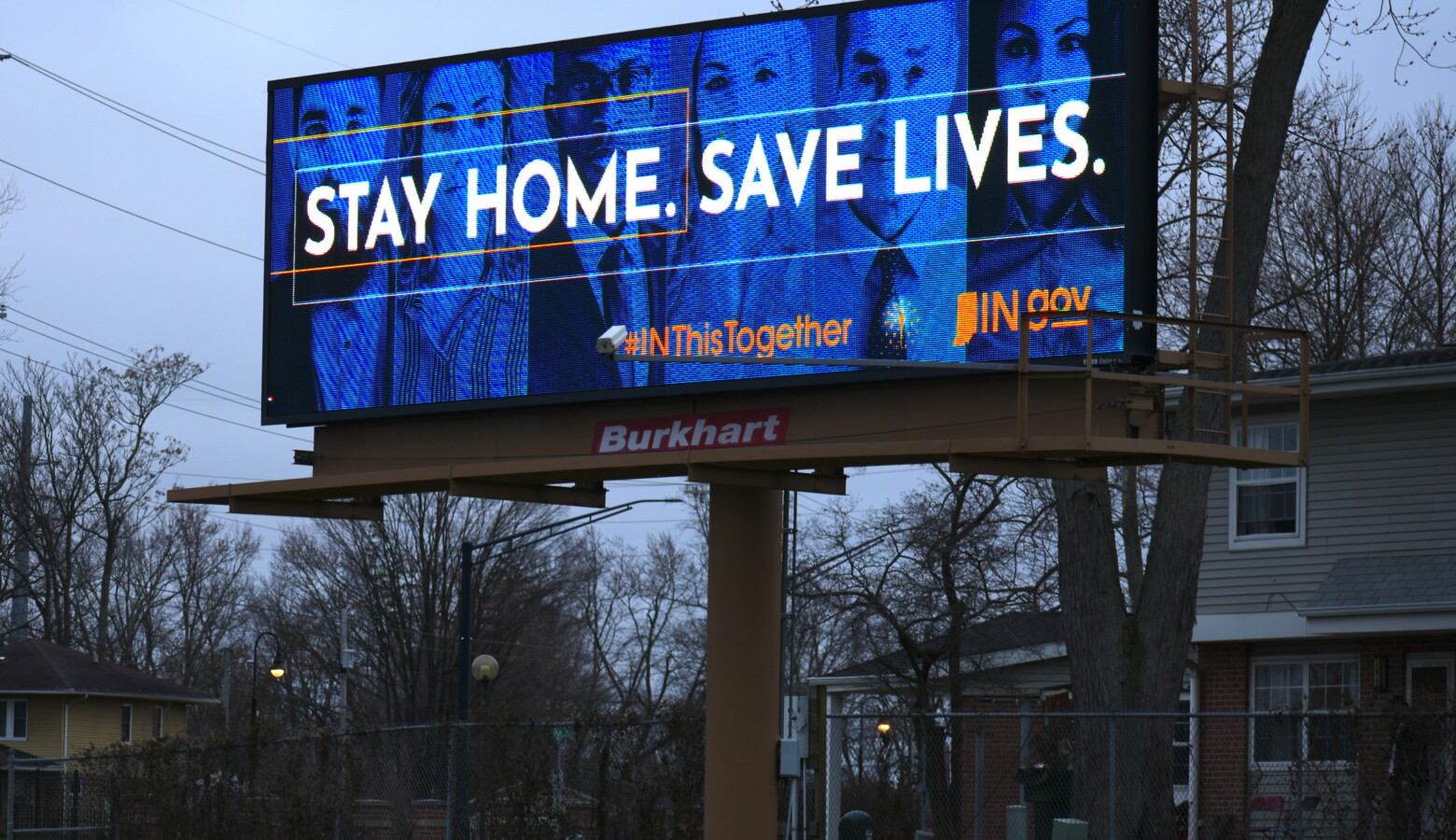 Hoosiers must stay at home as much as possible for another two weeks, through April 20 after Gov. Eric Holcomb officially extended his order. (Justin Hicks/IPB News)