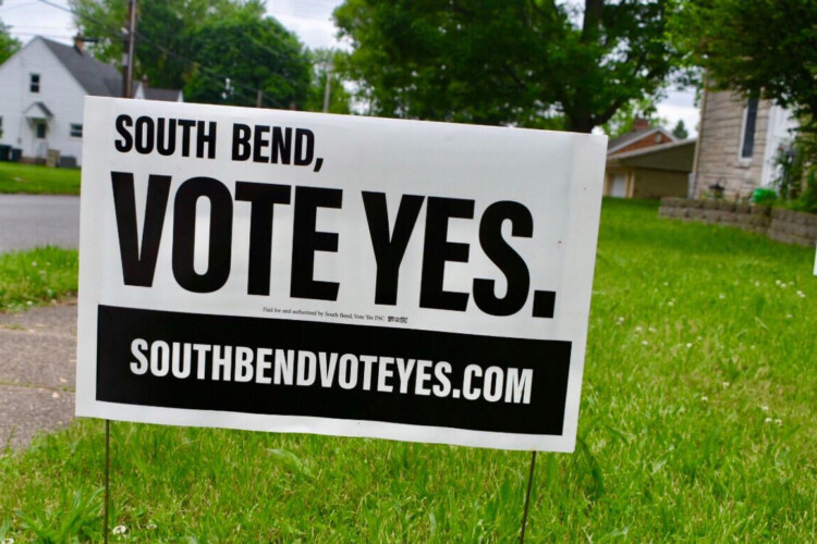 South Bend Community Schools is asking voters to approve two referendum measures: one focused on construction and one for general operations. (Justin Hicks/IPB News)