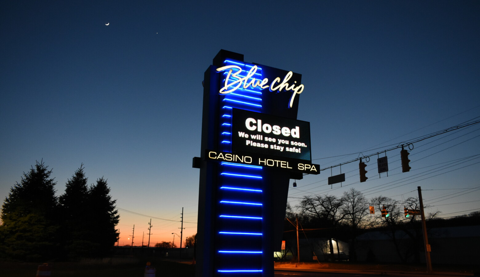 Casinos were required to submit health and safety plans before the state would allow them to reopen. (Justin Hicks/IPB News)