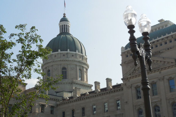 The 2020 legislative session ended in March – but many of the major education and health care measures passed by the state legislature go into effect on Wednesday. (Lauren Chapman/IPB News)