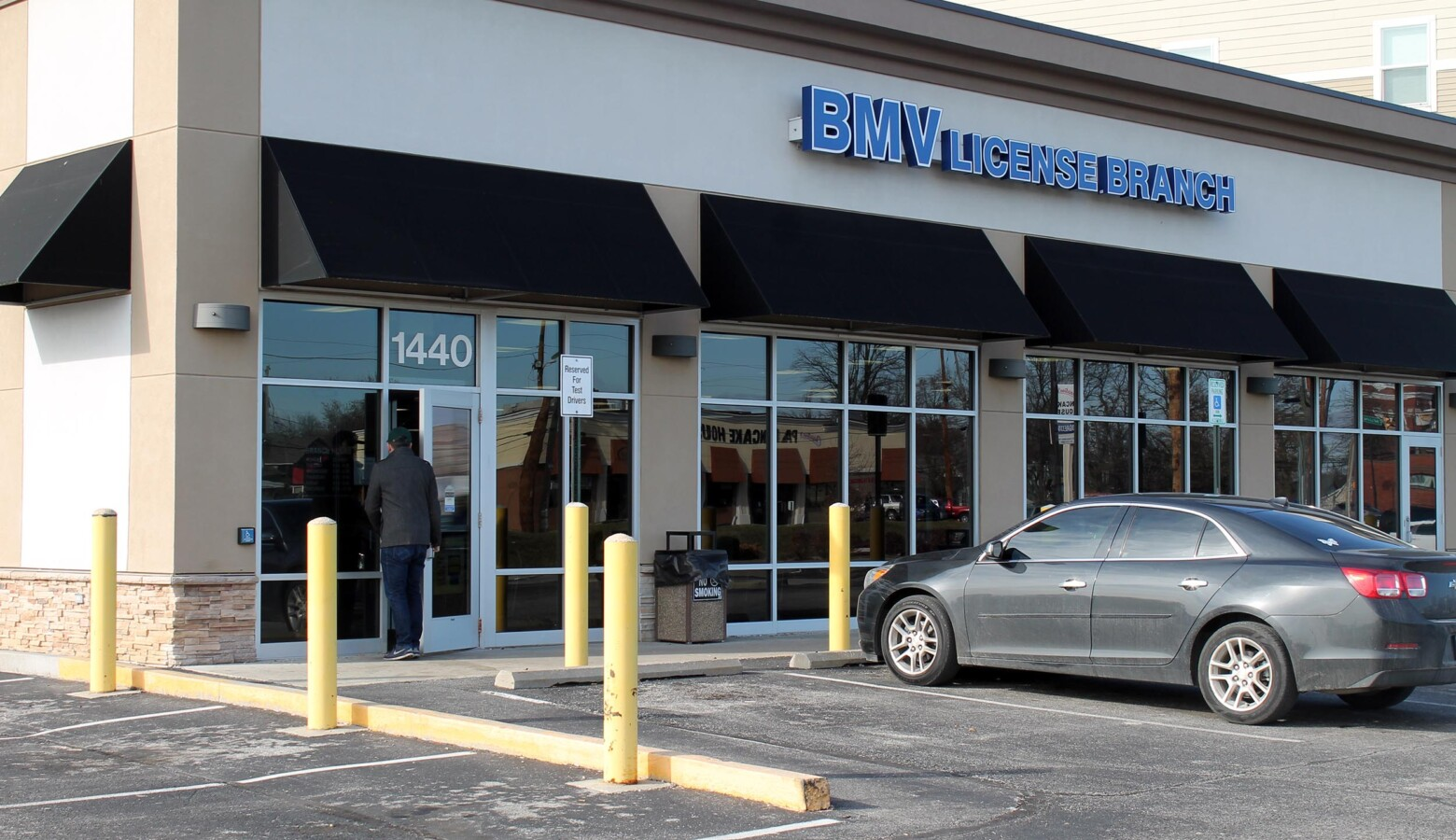 The BMV is asking customers not to pay in cash during a nationwide coin shortage. (Lauren Chapman/IPB News)