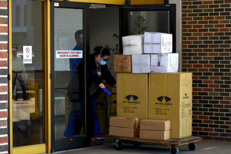Some schools are still waiting to receive critical supplies, including personal protective equipment. (Justin Hicks/IPB News)