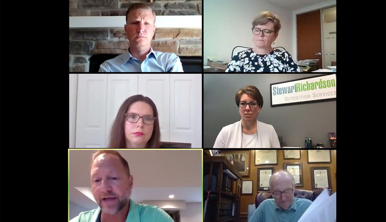 The Indiana Election Commission holds a virtual meeting in light of the ongoing COVID-19 pandemic. Republicans at that meeting rejected an effort to expand election options beyond in-person voting. (Screenshot of Zoom call)