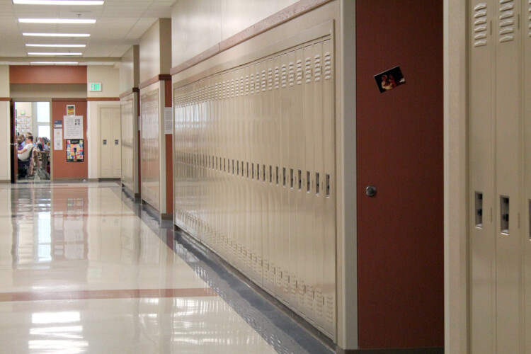Many school districts around the state have already reopened to in-person instruction, with several announcing positive COVID-19 cases. (Lauren Chapman/IPB News)