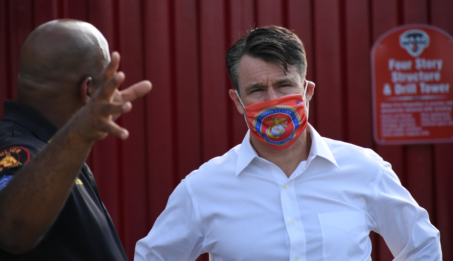 U.S. Sen. Todd Young (R-Ind.) says some of his priorities for the next federal relief bill include more support for the country's hardest-hit businesses, telehealth and child care. (Justin Hicks/IPB News)