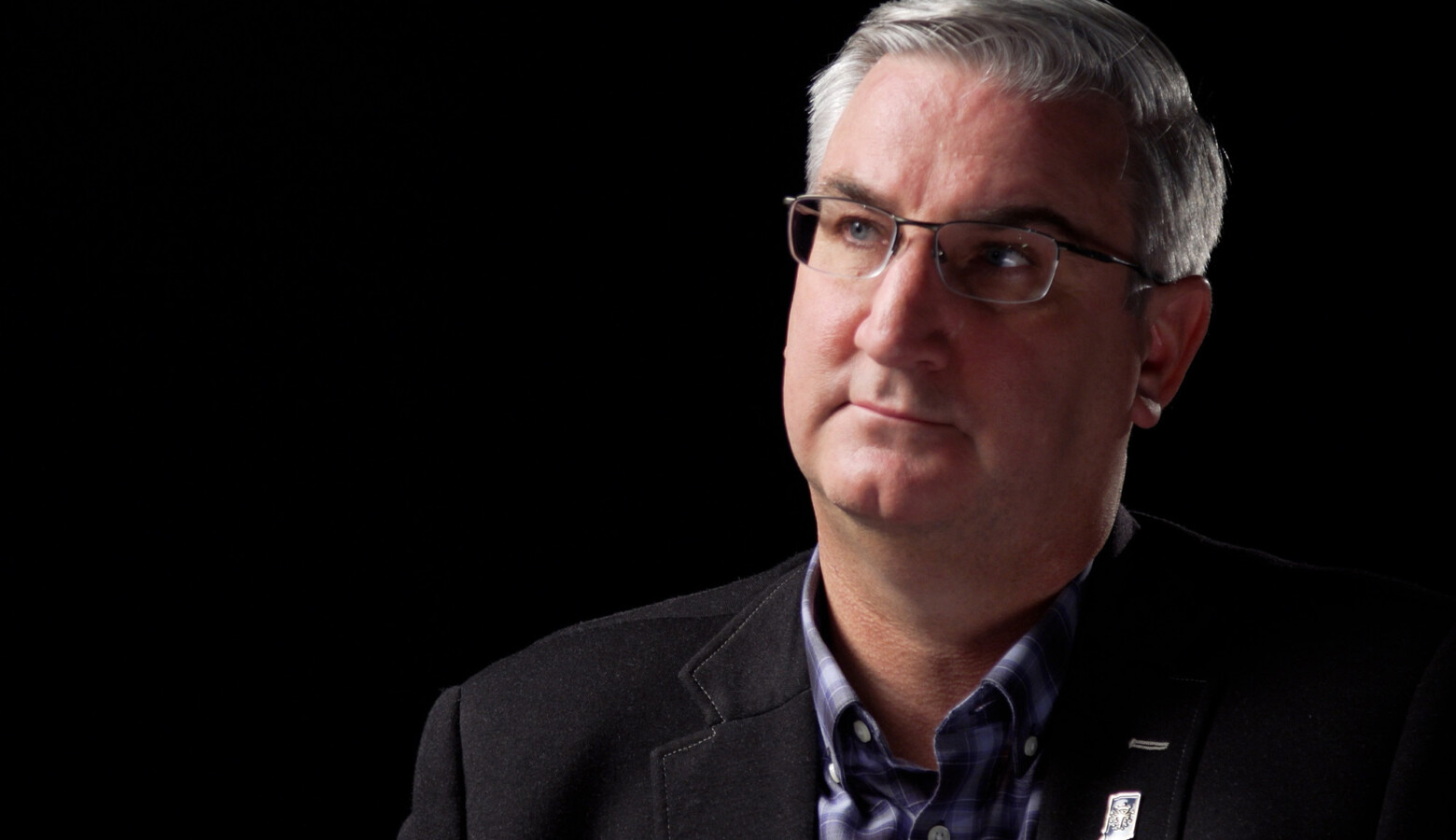 Gov. Eric Holcomb is running for a second term and looks to continue Republican control of the governor's office that stretches back to 2005. (Alan Mbathi/IPB News)