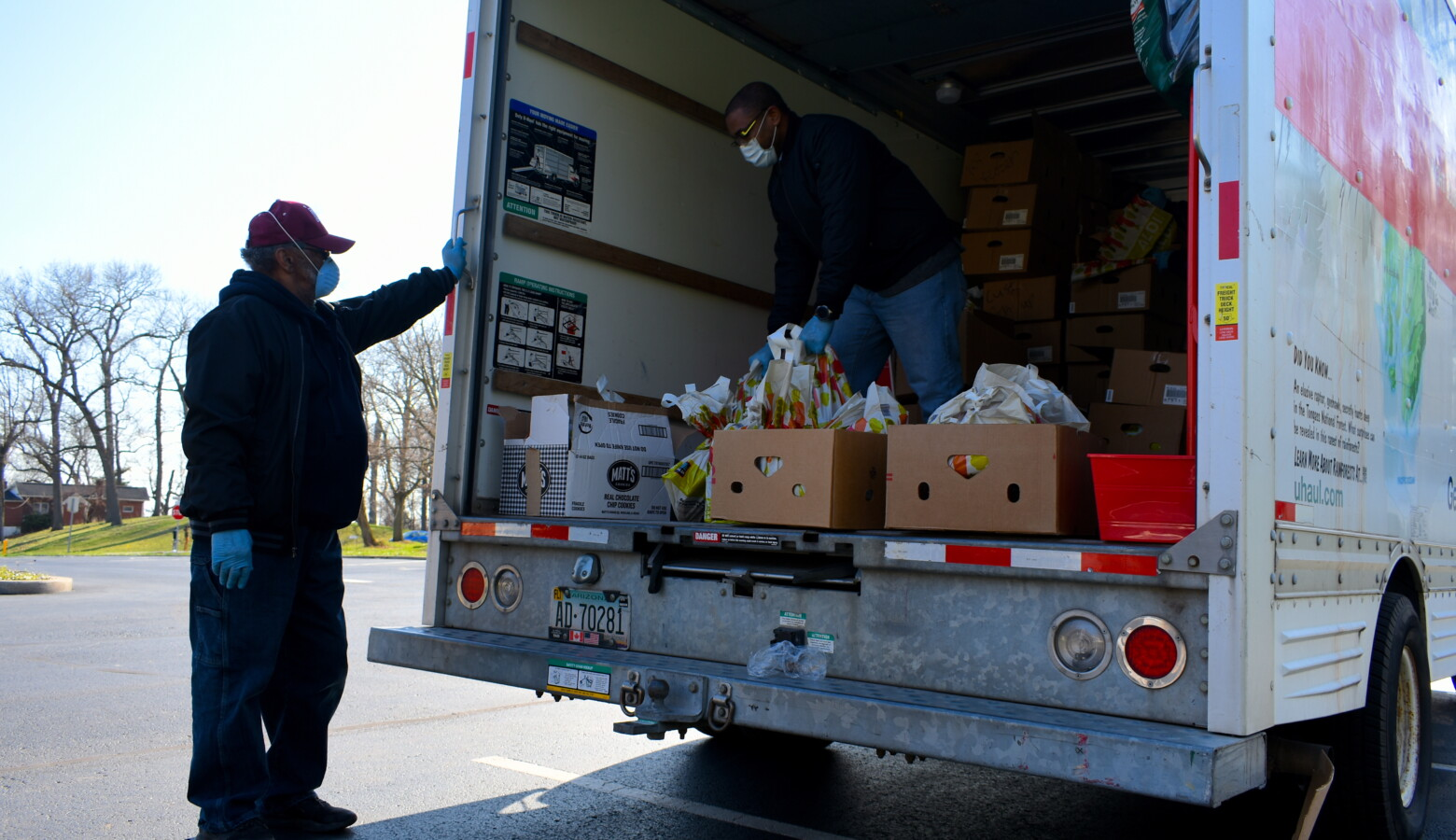 Hoosiers interested in volunteering at regional food banks can sign up at OperationFood.IN.gov (Justin Hicks/IPB News)