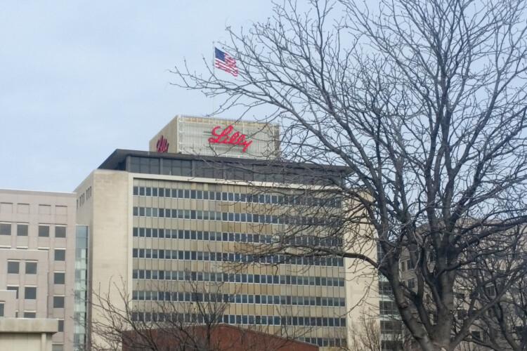 Eli Lilly Corporate Headquarters in Indianapolis. (Lauren Chapman/IPB News)