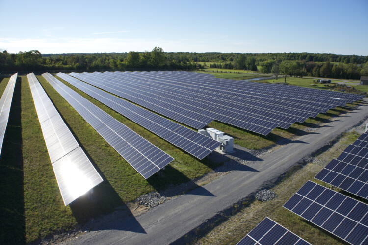 Invenergy's Woodville project in Ontario, Canada. (Courtesy of Invenergy)