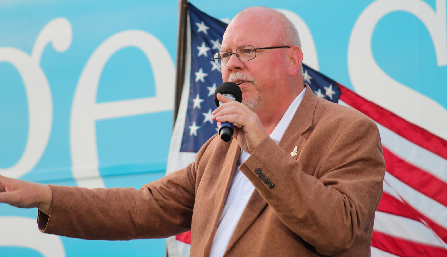 Libertarian candidate for governor Donald Rainwater has announced he will appoint Dawn Wooten as Indiana's education secretary, should he win the election. (Lauren Chapman/IPB News)