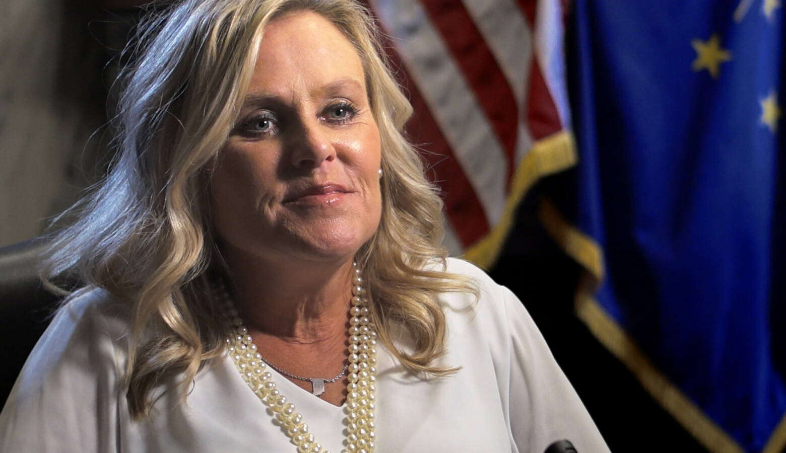 Indiana's final elected Superintendent of Public Instruction Jennifer McCormick says the presidential election will have a huge impact on public school funding. (Alan Mbathi/IPB News)