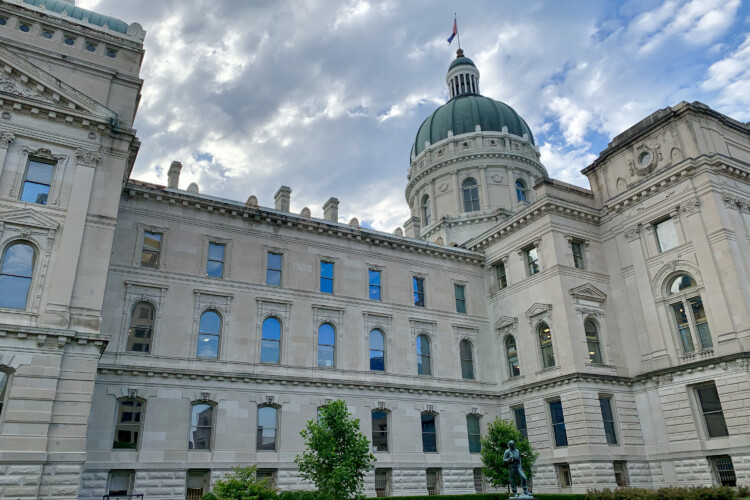 A 2018 lawsuit challenged almost all of Indiana's abortion laws, crafted by state legislators at the Statehouse over the last few decades. (Brandon Smith/IPB News)
