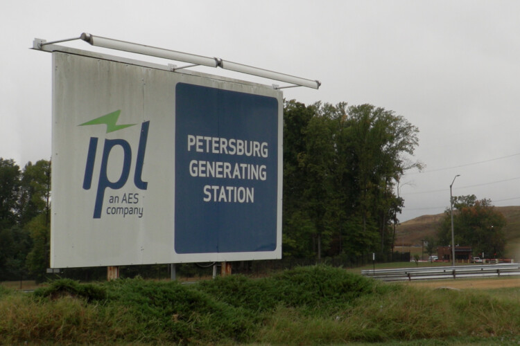 The task force is trying to figure out how to pay for the remaining costs associated with coal plants that retire early. Indianapolis Power & Light will retire some units at the Petersburg coal plant earlier than planned. (Alan Mbathi/IPB News)