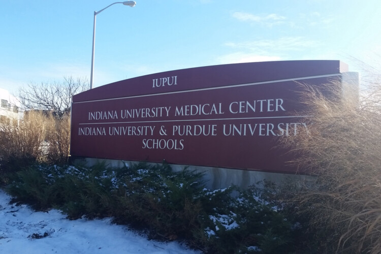 Indiana University's lone capital request to lawmakers for the state budget is money for a new primary medical school campus. (Lauren Chapman/IPB News)