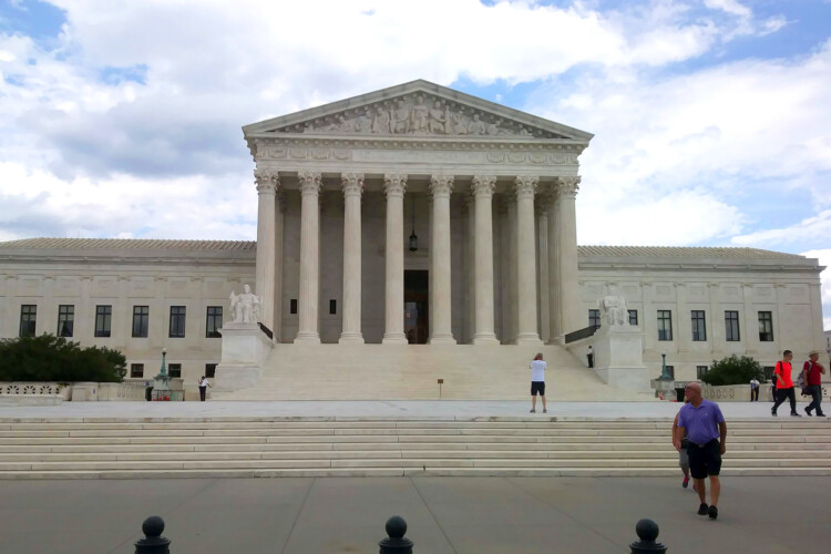 The U.S. Supreme Court in Washington, D.C. (Lauren Chapman/IPB News)