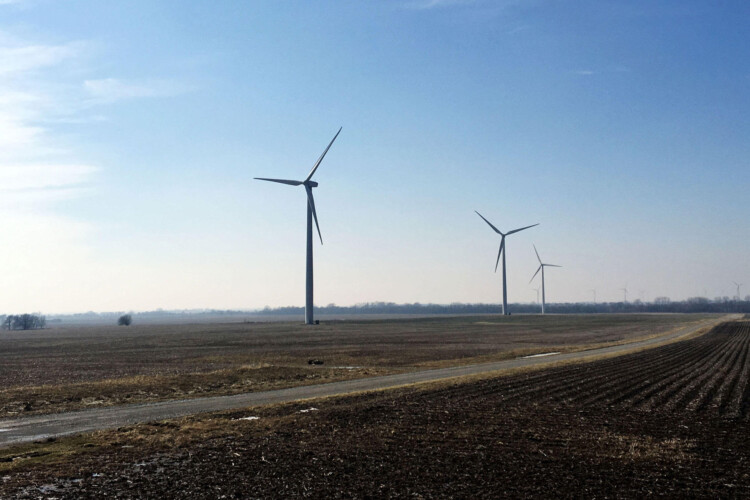 Rep. Ed Soliday (R-Valparaiso) said lawmakers have drafted legislation that sets state standards for renewable energy siting, but lets locals decide if a project meets those standards. (FILE PHOTO: Taylor Haggerty/WBAA)