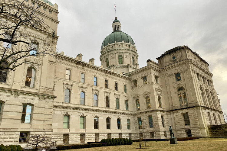 Indiana House and Senate Democrats unveiled 2021 legislative agendas focused in part on helping those hurt by the COVID-19 pandemic. (Brandon Smith/IPB News)