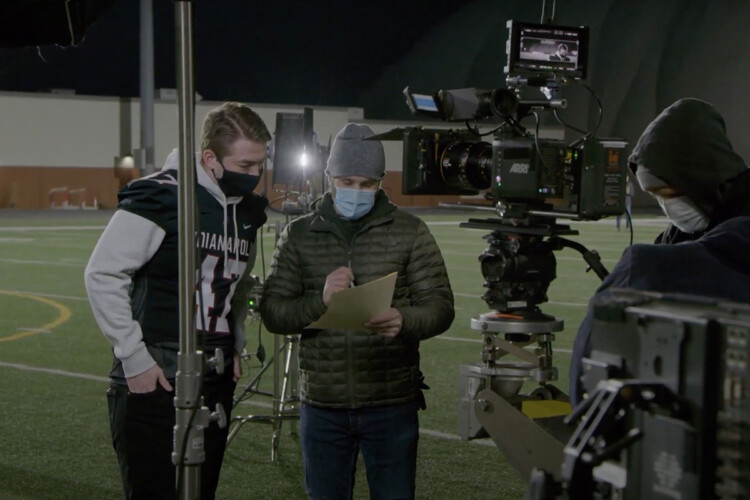 The Indiana Department of Health's Super Bowl commercial will feature Wes Loggan, the son of an Indianapolis high school athletic director who died from COVID-19 last year. (Courtesy of IDOH)