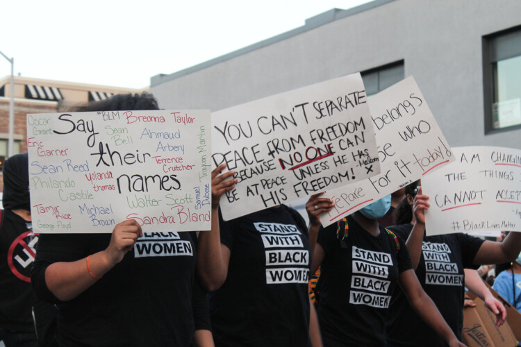 Sen. Mike Young's (R-Indianapolis) legislation is aimed at the 2020 Black Lives Matters protests in Indianapolis. (Lauren Chapman/IPB News)