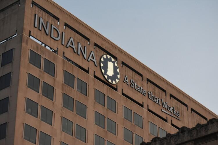 The Indiana Government Center building. (Justin Hicks/IPB News)