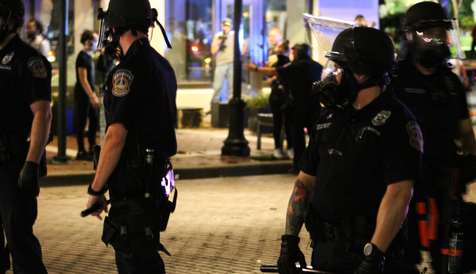 The House police reform bill was crafted over the last year following protests around the country against police misconduct and racial inequity. (Lauren Chapman/IPB News)