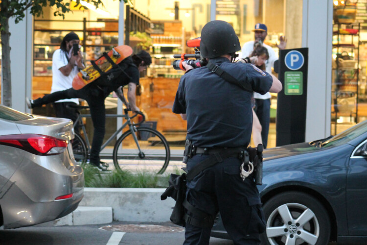 Legislation approved by a Senate committee would ban police in Indiana from firing warning shots. (Lauren Chapman/IPB News)