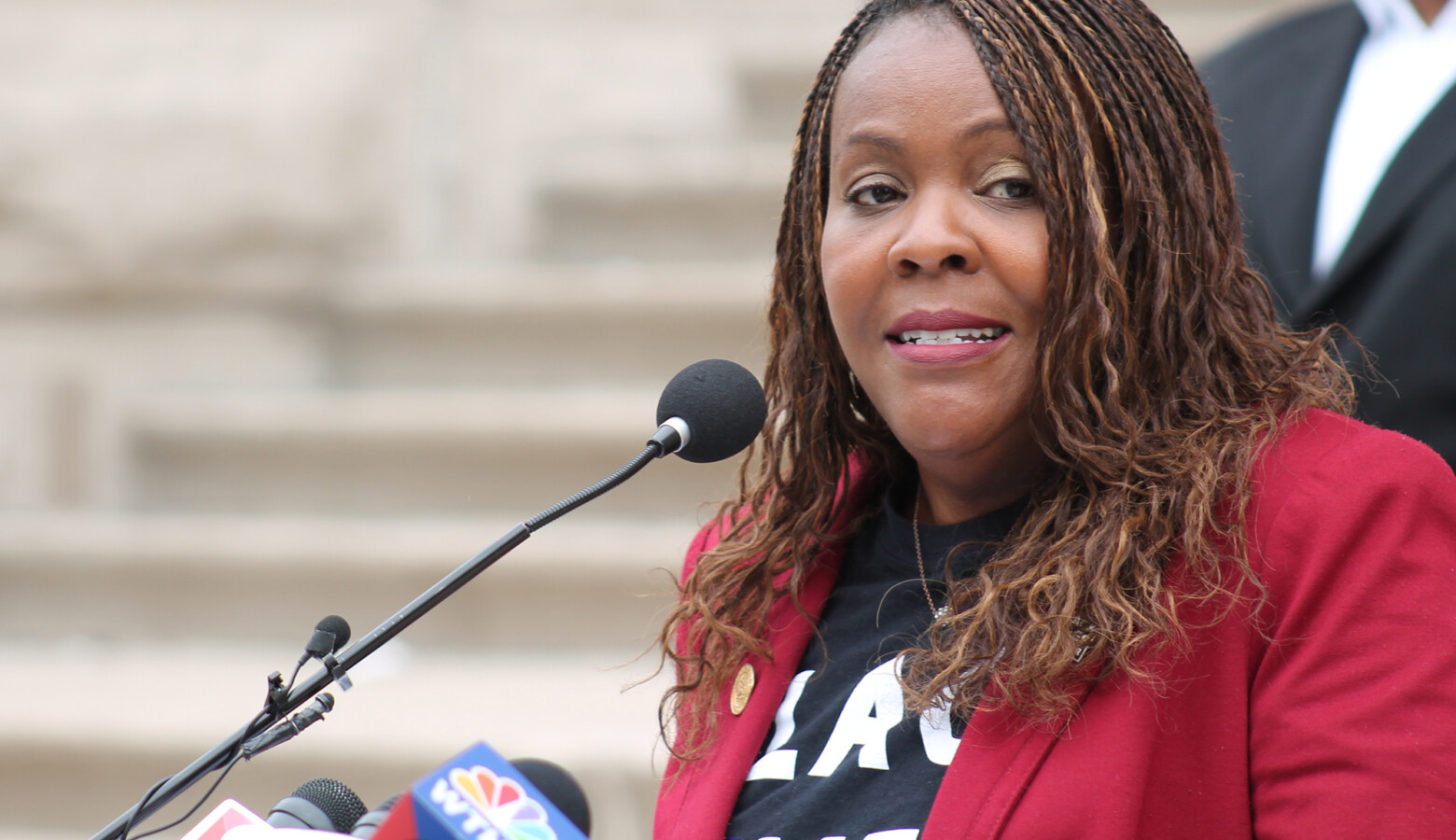 Indiana Black Legislative Caucus Chair Robin Shackleford (D-Indianapolis) has been calling for implicit bias training for lawmakers since last year. (Lauren Chapman/IPB News)