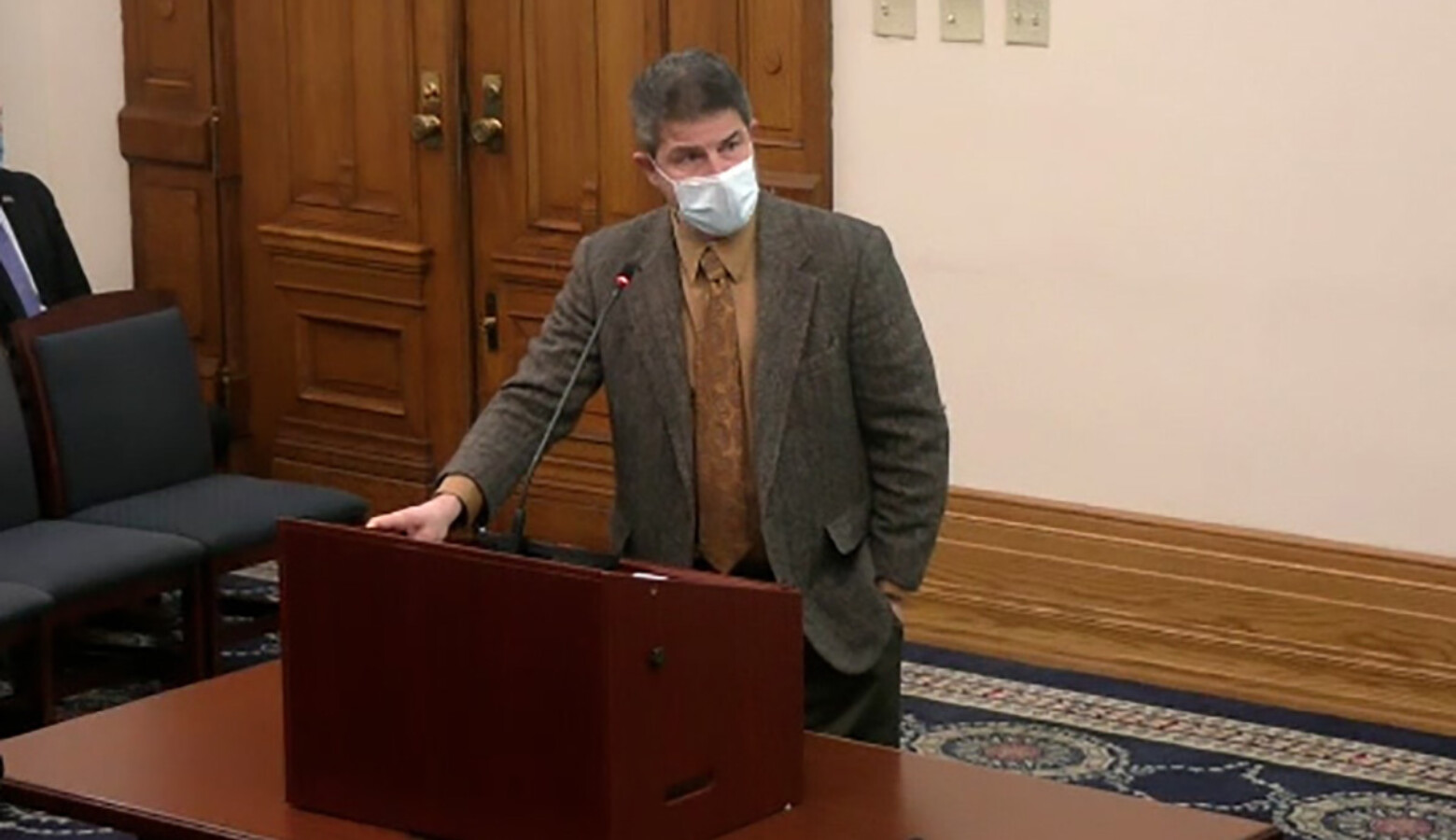 Senate President Pro Tem Rodric Bray (R-Martinsville) said the improving COVID-19 numbers across the state prompted his chamber to undo some precautions it took this session.