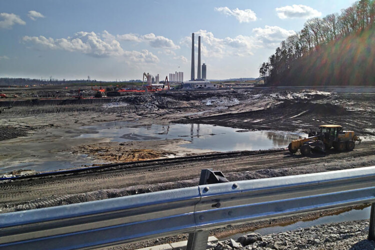 The site of the 2008 Tennessee Valley Authority Kingston Fossil Plant coal ash spill three years later. (Appalachian Voices/Flickr)