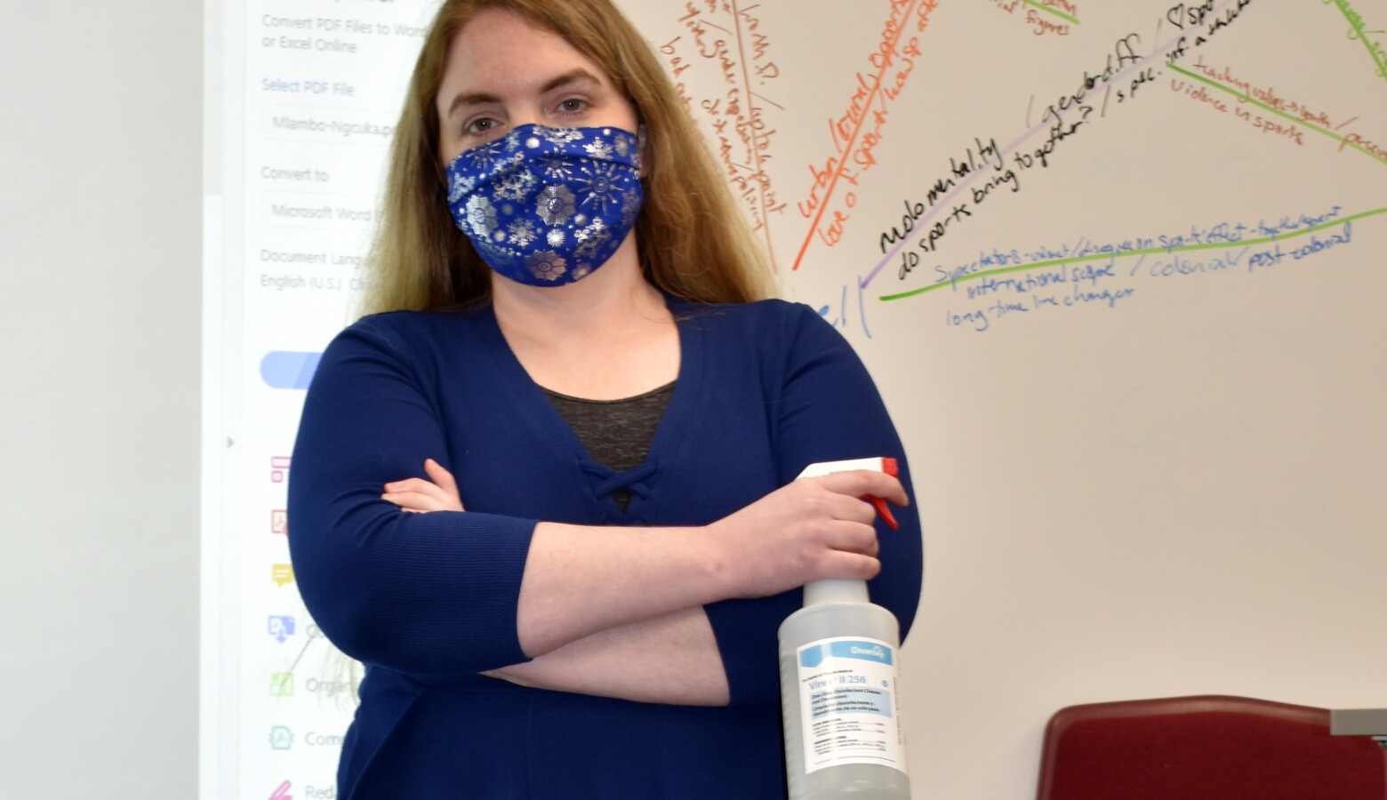 Crawfordsville High School teacher Emily Race says coming up with ideas about what can help her cope with pandemic-fueled stress feels like another task on a never-ending list of things to do. (Provided by Emily Race)