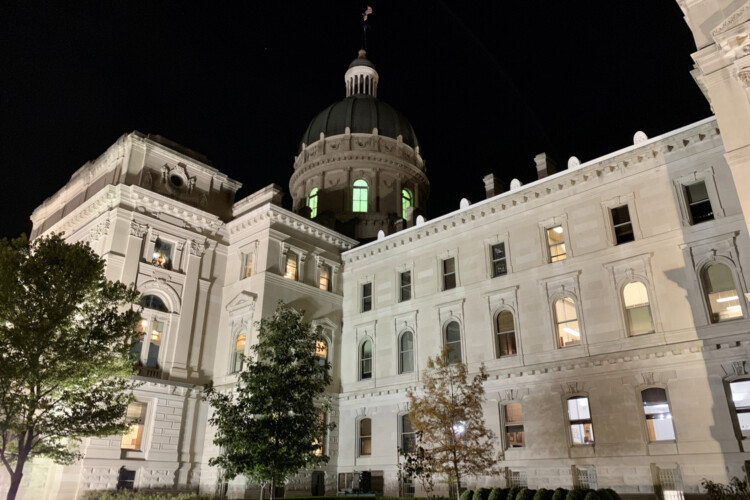 House Bill 1002 would broaden protections for medical providers beyond the legislation already signed into law by Gov. Eric Holcomb in February. (Brandon Smith/IPB News)