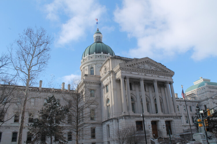 The Indiana Constitution says the governor can call a special session of the legislature. Whether lawmakers can also do that is in dispute. (Lauren Chapman/IPB News)