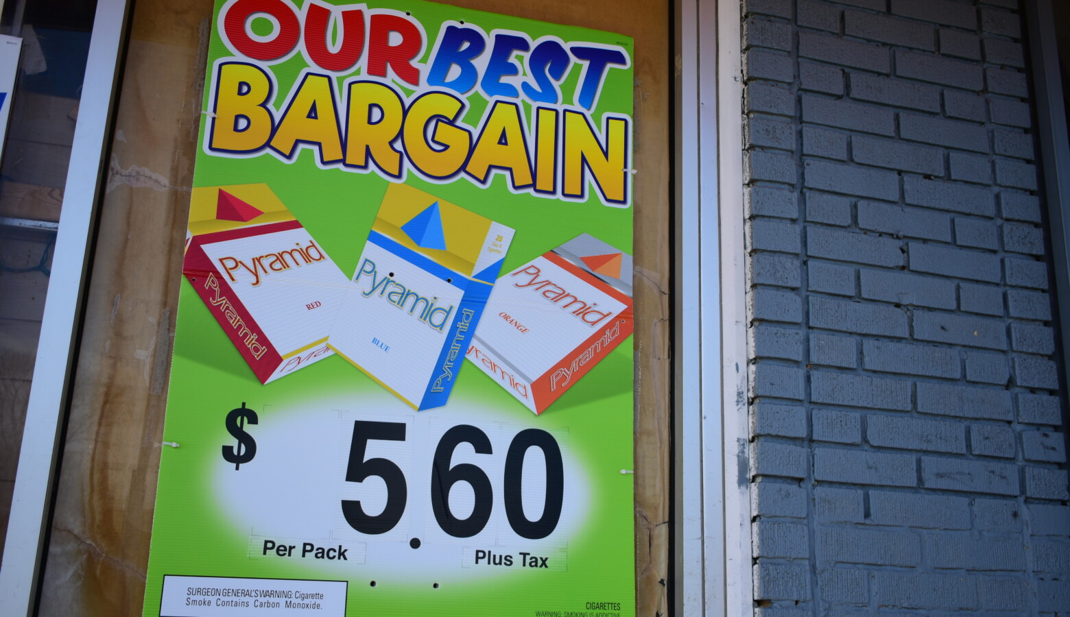 Indiana lawmakers haven't increased the state's cigarette tax since 2007. (Justin Hicks/IPB News)