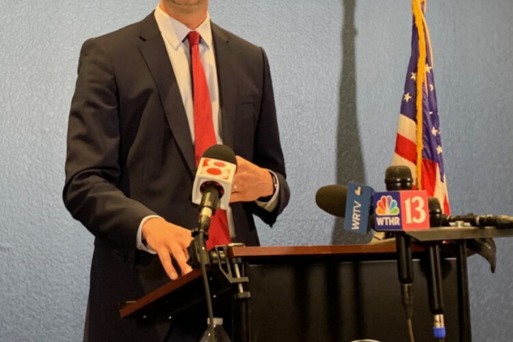 Marion County Prosecutor Ryan Mears. (Jill Sheridan WFYI)
