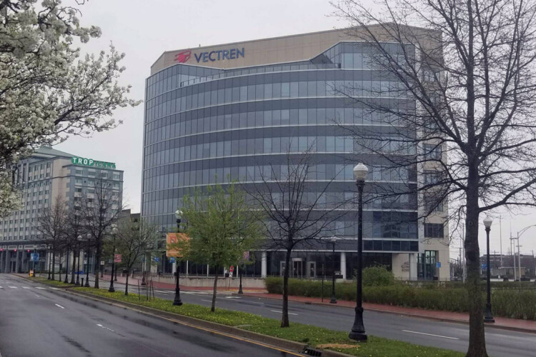 Vectren, headquartered out of Evansville, merged with CenterPoint Energy in 2019 (Samantha Horton/IPB News)