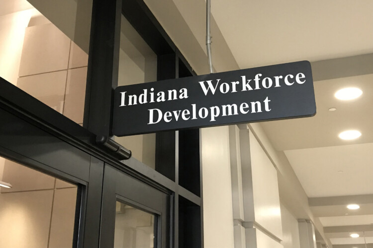 Starting June 1, out-of-work Hoosiers must actively search for a job to receive unemployment benefits. That requirement was suspended during the COVID-19 pandemic. (Brandon Smith/IPB News)