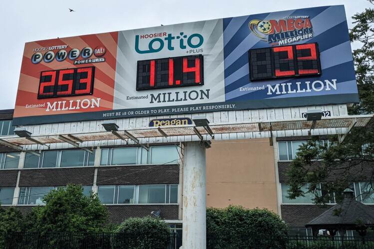 Currently, Powerball jackpot drawings are every Wednesday and Saturday. (Lauren Chapman/IPB News)