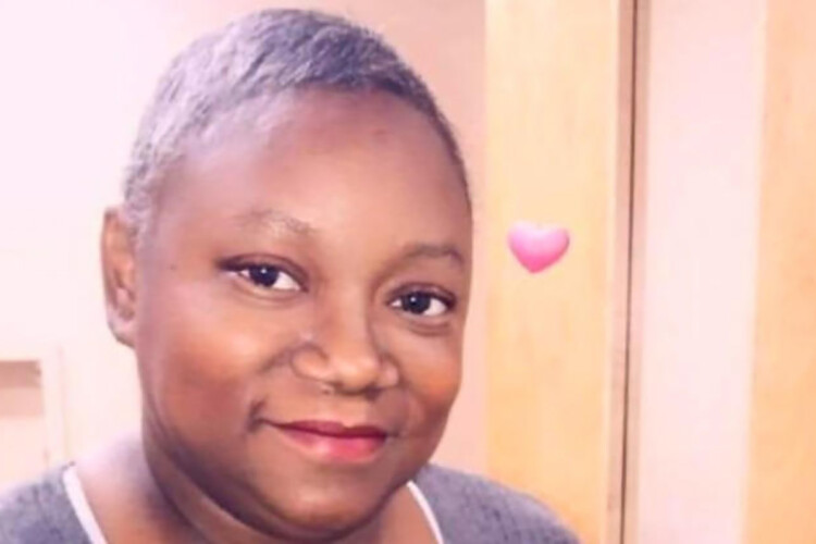 Dr. Susan Moore posted a video from her hospital bed in the Indianapolis area. She said that she was denied proper care while being treated for COVID-19. (Alicia Sanders and Rashad Elby/GoFundMe)