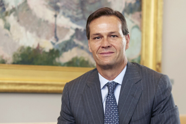 Buckingham Companies CEO and founder Brad Chambers will not leave his company while he leads the Indiana Economic Development Corporation. (Courtesy of the governor's office)